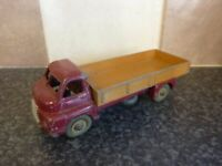 VINTAGE DINKY TOYS No.522 BIG BEDFORD LORRY 1952-4 MAROON/FAWN