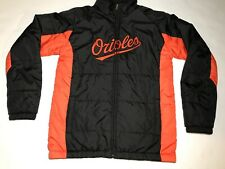 Baltimore Orioles Jacket Majestic MLB Youth Large 14/16 Fall Winter Baseball