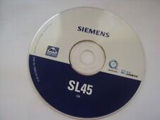 ORIGINAL SIEMENS SL45 CD SOFTWARE