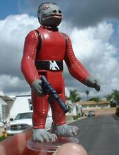 NICE Red Snaggletooth w/FLOAT Weapon Vintage 1978 Star Wars C9.5+