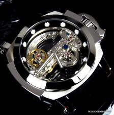 Invicta Men's 53mm Man of War Ghost Automatic Skeletonized Dial Watch Silvertone