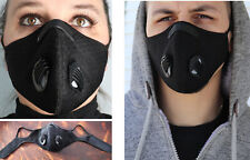 Cycling Protective Air Purifying Mask Face Mask Carbon activated filter ,size XL