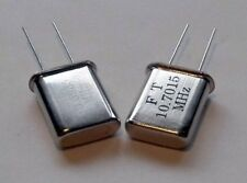 10.7MHz SSB Filter Carrier Crystals 10.6985 & 10.7015MHz, 20pF parallel mode.