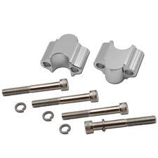 """CNC Handlebar 7/8"""" Riser 30mm 1"""" Bar Adapter Clamp Fit Motorcycle ATV Dirt Bike"""