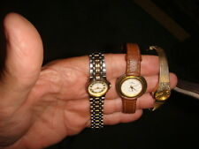 Givenchy Swiss -made Quartz  Watch Citizen and Bulova Quartz Lady Watches all 3