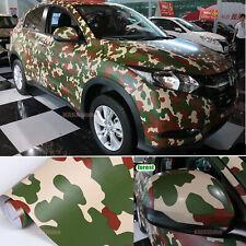 Forest Digital Desert Camouflage Camo Satin Car Vinyl Wrap Sticker Stretch CFUS