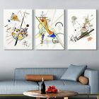 "3PCS Framed Canvas Giclee Print by Wassily Kandinsky Wall Art Decor 24""x32""Each"