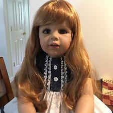MASTERPIECE DOLL JULIA By Monica Peter Leicht (Strawberry Blonde w/brown eyes)