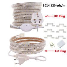 LED Strip AC 220V 230V IP67 Waterproof 3014 SMD 120leds/m Commercial Rope Light