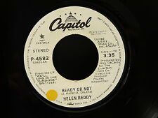 HELEN REDDY Ready or not / Same PROMO P 4582