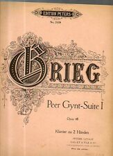 SC7 SPARTITO Peer Gynt-Suite I Opus 46 Edvard Grieg -Edition Peters nr. 2420