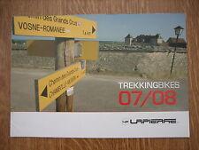 catalogue de vélos Lapierre citybikes et trekkingbikes 2007