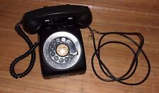 Vintage 1952 Western Electric Black Rotary Telephone