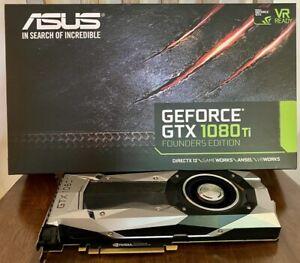 ASUS NVIDIA GeForce GTX 1080 TI FE 11gb Gddr5x