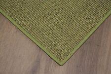 Sisal Teppich umkettelt grün meliert 200x250cm 100% Sisal gekettelt