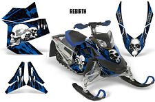 SIKSPAK Sled Wrap Ski Doo Rev XP Summit Snowmobile Graphics Kit 08-12 REBIRTH U