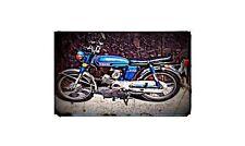 1973 yb100 Bike Motorcycle A4 Retro Metal Sign Aluminium
