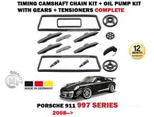 FOR PORSCHE 911 997 2008-> TIMING CAM CHAIN KIT + OIL PUMP WITH GEARS COMPLETE