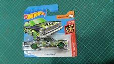 Hot Wheels Super Treasure Hunt Short Card '65 Ford Galaxy Ship Worldwide