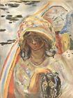 """Original 1939 Verve Lithograph """"The Saint"""" by Pierre Bonnard"""