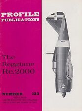 Profile Aircraft No. 123 The Reggiane Re.2000 (WWII Italian Air Force Fighter)