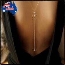Waist Chain Bikini Beach Harness Necklace Celebrity Women Gift Silver Body Belly
