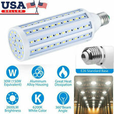 LED Corn Light Bulb E27 E26 30W Workshop Garage Lamp 6500K Daylight equiva 150W