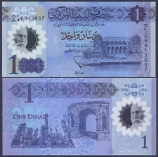 Libya Pnew*1 Dinar Polymer*Nd 2019*Unc Gem*Usa Seller