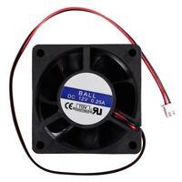 60mm x 25mm CC 12V 0,25A Ventilateur de refroidissement 2Pin pour CPU boiti O4V9