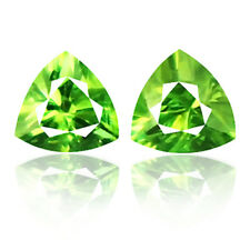 0.36ct 100%Natural earth mined extremely rare grass green color demantoid garnet