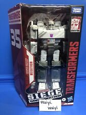 Hasbro Transformers 35th War for Cybertron Siege WFC-S66 Megatron Animation!