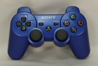 Official OEM Sony PlayStation 3 PS3 DualShock 3 Blue Wireless Controller CECHZC2