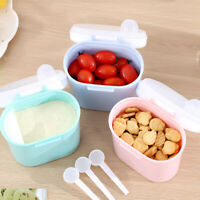 Infant Baby Milk Powder Formula Dispenser Food Container Storage Feeding Box UK