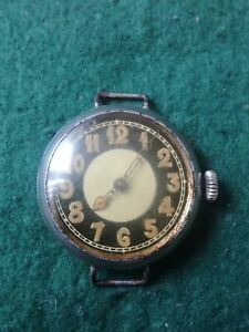 WW1 Trench Wristwatch, In Need Of Repair.