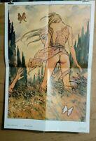 Affiche Milo Manara Primavera Poster 43x64 cm pliée en 4