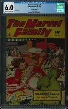 THE MARVEL FAMILY #21 CGC 6.0 - RARE CANADIAN GOLDEN AGE! SOLE COPY ON CENSUS!