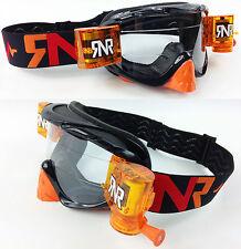 RIP N ROLL MOTOCROSS ENDURO lunettes de protection hybride RnR NEUF mx Limité
