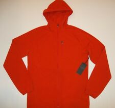 QOR Athletic Kit Full Zip HOODED Performance JACKET Mens Size LARGE NEW