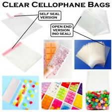 Clear Cellophane Bags Wax Melts Packaging Sweet Small Cello Wrap Gifts Snap Bars