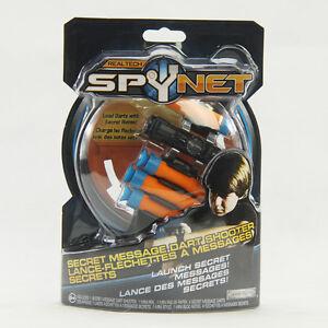 REALTECH SPYNET secret message dart shooter