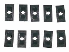 "Ford Lincoln Mercury 3/32"" Stud Emblem Badge Trim Molding Push Speed Nut 10pcs C"