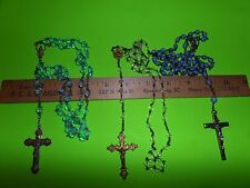 VINTAGE ROSARY RELIGIOUS 3 LOT CATHOLIC CHRISTIAN FROM ESTATE AUCTION