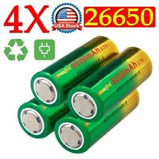 Power Rechargeable 26650 Battery 3.7V Li-ion Battery For Flashlight Torch Lamp