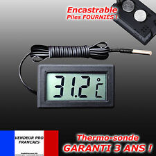 THERMOMETRE DIGITAL A SONDE ENCASTRABLE CONGELATEUR AQUARIUM REFRIGERATEUR
