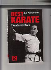 BEST KARATE 2-NAKAYAMA-FUNDAMENTALS 1ST 1978/LATER PRINTING-QUALITY SC FINE