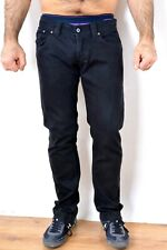 DonDup Mens Low Waist Stretch Fit Black Jeans trousers Pants W30 Good Cond