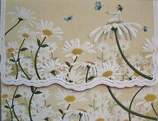 Carol Wilson Fine Arts Stationery 10 Note Cards Envelopes Blank Daisy Daises