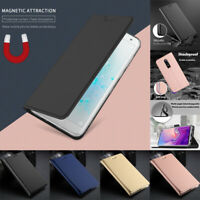 For OnePlus 7/7 Pro/6/6T Magnetic Slim Flip Leather Wallet Card Stand Cover Case