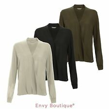 Chiffon V Neck Blouses for Women