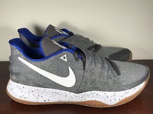 Mens Nike Kyrie 1 Low Uncle Drew Basketball Shoes Gray/Blue AO8979-005 Size 13.5